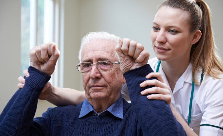 Treatment for a stroke often involves inpatient rehabilitation
